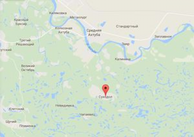 Карта Суходольского сельского поселения